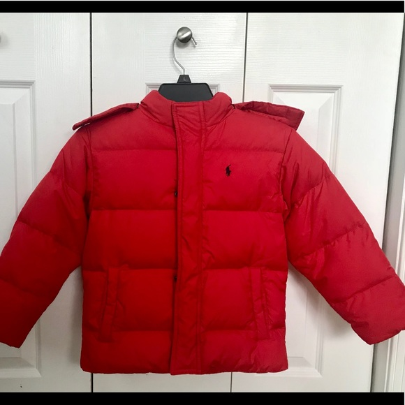 1fd986e98 Polo by Ralph Lauren Jackets & Coats | Kids Ralph Lauren Red Quilted ...